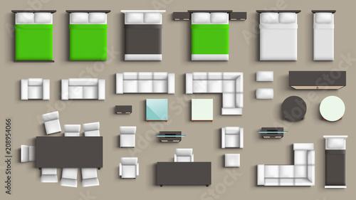 Fotografía  furniture big set