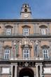 Facade of royal palace - Naples - Italy
