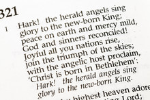 "Christmas Carol  - ""Hark! The Herald Angels Sing"""