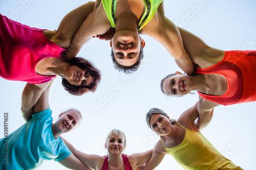 Valokuva  Woman sport club outdoor