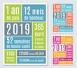 2019-Carte de vœux mois, semaines, heures-1