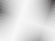 Abstract Halftone Dots Texture...