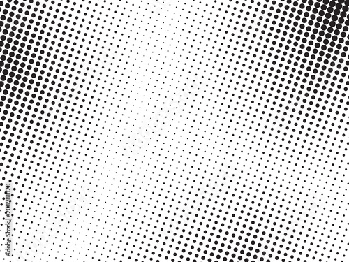 Photo  Abstract halftone dots texture background