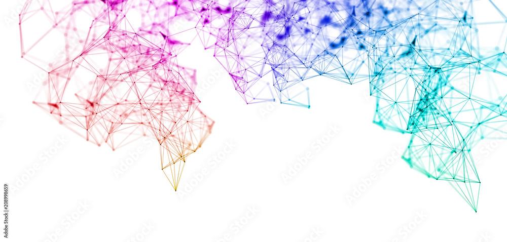 Fototapety, obrazy: network