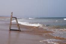 Lifeguard Stand On The Beach O...