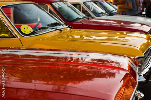 Obraz Old cars - fototapety do salonu