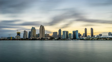 Sunrise San Diego Skyline From...