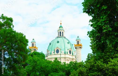 Wiener Karlskirche Canvas Print