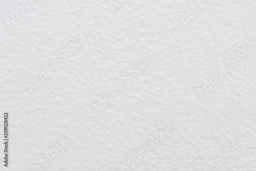 Fotografía Blank plastered white wall texture or background