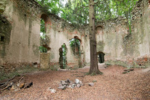 Ruins Of The Baroque Chapel Of...