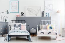 Simple Style Siblings Bedroom ...