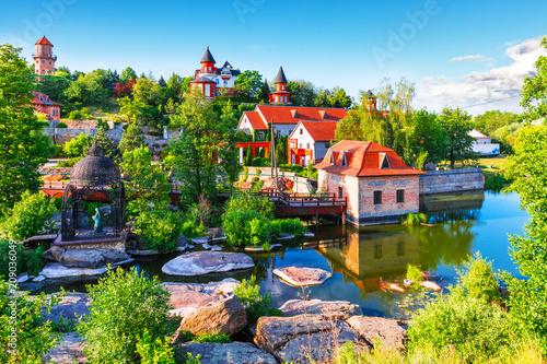 Foto op Canvas Europa Landscape Park in Buky, Ukraine