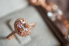 Luxury Diamond Ring In Jewelry...