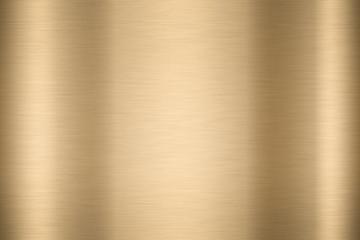 Abstract Shiny smooth foil metal Gold color background Bright vintage Brass plate chrome element texture concept simple bronze leaf panel hard backdrop design, light polished steel banner wallpaper.