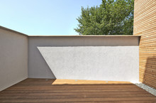 Renovated White Ciment Wall An...