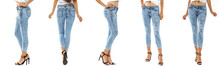 Woman Legs And Jeans