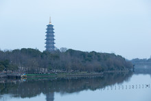 Ancient Pagoda In Jinhua