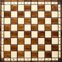 Chess Board. Wooden Chess Boar...