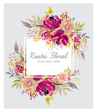 Rustic Marsala Background With...