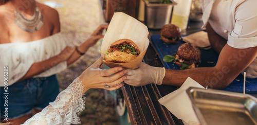 Cadres-photo bureau Magasin alimentation Food truck burger