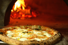 Tasty Pizza Near Firewood Oven...