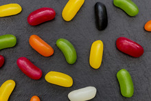 Jelly Beans Candy Sweets Abstr...