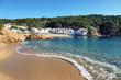 Tamariu bay and coastal town in Catalonia, Spain.