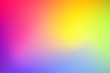 canvas print picture Gradient colorful vector background