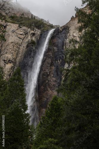 Waterfall Yosemite Valley