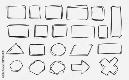 Fototapety, obrazy: scribble1306a