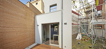 New Facade In Courtyard  From ...
