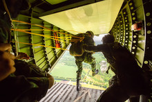 Rangers Parachuted From Milita...