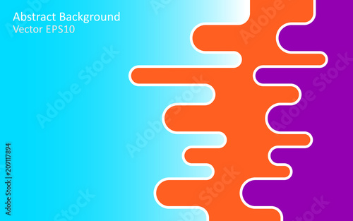 Poster Art abstrait Abstract vector background, template design