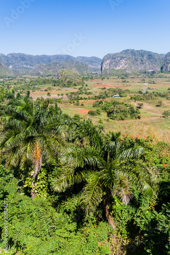 View of Vinales valley, Cuba Canvas Print