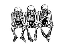 Graphical Skeletons Sitting Is...
