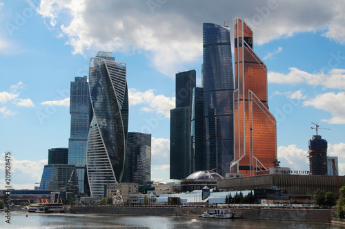 Zdjęcie XXL Centrum biznesowe Moskwy, Rosja