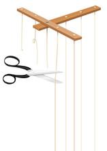 Scissors Cuts Strings Of Mario...