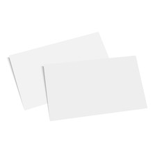 Blank Of Business Card Template. Vector.