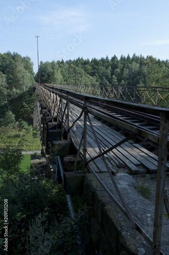 Fototapeta Stary most kolejowy