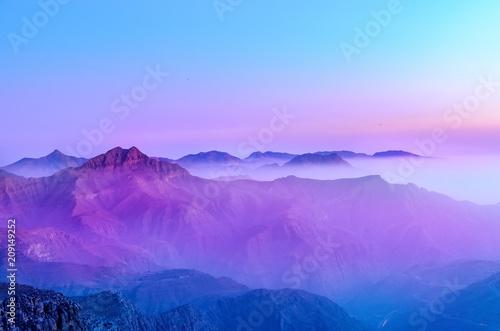 Fotografie, Obraz  Jebel Jais mountain in Ras Al Khaimah