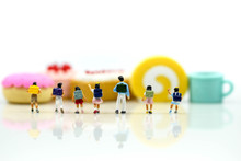 Miniature People : Student And...