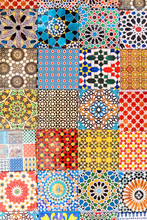 Moroccan Colorful Tiles