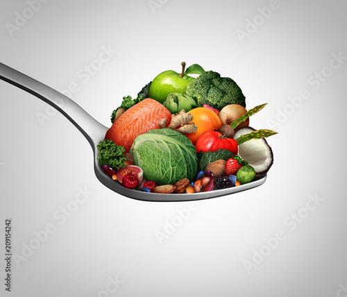 Fototapeta Supplements Vitamins obraz