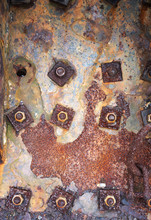 Rusty Metal Backgrounds In A S...