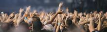 Concert Crowd At Live Concert