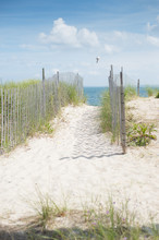 Sand Road Access To The Beach ...
