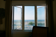 View Of Ocean From Window