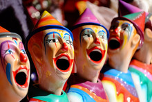 Carnival Clowns At The Ekka (B...