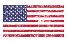 American Flag Distressed Grung...
