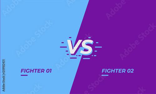 Valokuva Versus screen design